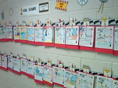 'now showing'.....movie themed wall/bulletin board display with back to school posters
