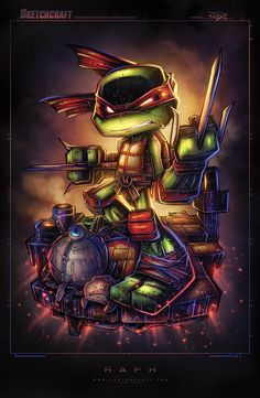 TMNT - Raph by Rob Duenas