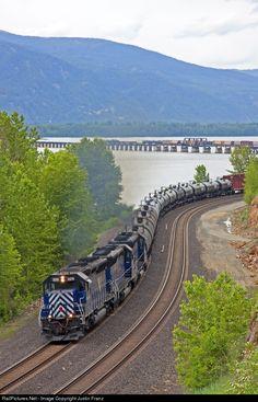 By Train, Train Tracks, Locomotive, Rail Link, Scenic Train Rides, Bnsf Railway, Railroad Pictures, Bonde, Railroad Photography