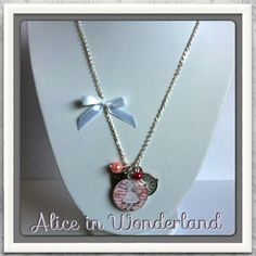 Necklace From my Alice in Wonderland Collection http://www.alittlemarket.com/boutique/alice_ayres-588579.html