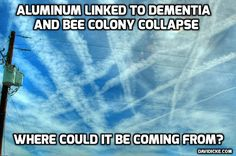 Geochemist Says We Are Being Poisoned By The Aluminum Found In Chemtrails