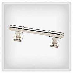 This Polished Nickel 3-inch Soho Bar Pull offers a modern yet timeless design that combines sleek lines with silver sheen and architectural elements for a bathroom look that's contemporary and sleek. From Liberty Hardware's Luxe Collection.