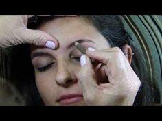 Como tirar as sobrancelhas por Margarete Salazar (mãe de Alice Salazar) - YouTube