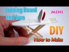 Plancha y plancha en miniatura DIY | DollHouse | ¡No hay arcilla de polímero! - YouTube