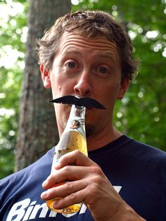Mustache Shaped Beer Markers  Six Pack Holiday by Mysaucymustache, $6.00