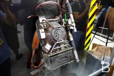 The new Ghostbusters proton pack looks incredible in person