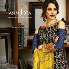 Asim Jofa Winter Luxury Shawl Collection 2016-17