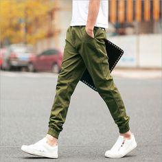 new style e6044 48de4 2016 l arrivée de nouveaux Casual pantalons Cargo extérieur hommes  militaire Style cheville longueur pantalon
