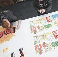 アメコミ風のウォールステッカー「Comic Book Wall Stickers」が日本上陸!