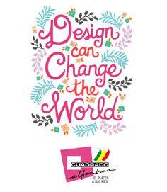 Lunes de inspiración, cambiando su mundo un diseño a la vez con Cuadrado Alfombras