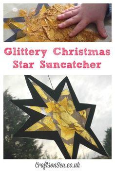 Suzy Goose and the Christmas Star Suncatcher Craft