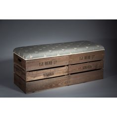 Found it at Wayfair.co.uk - Upholstered Storage Bedroom Bench