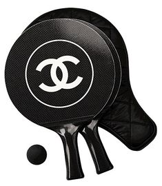 Surely you need a Chanel ping pong set.