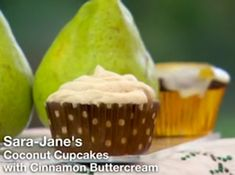 Sara-Jane made Coconut Cupcakes with Cinnamon Buttercream and Spiced Chocolate & Pear Cupcakes