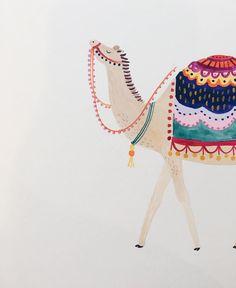 Weird Drawings, Art Drawings, People Illustration, Illustration Art, Exotic Art, Desert Art, Tropical Art, Animal Wallpaper, Fun Projects