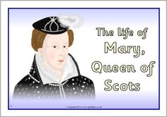 Mary, Queen of Scots timeline posters (SB9285) - SparkleBox