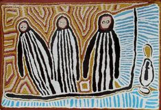 Linda Syddick / Three Wise Men  90x60cm  2008