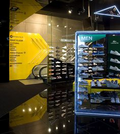 Sports Store   Retail Design   Shop Interior   Sports Display   JD store by Briggs Hillier, Birmingham