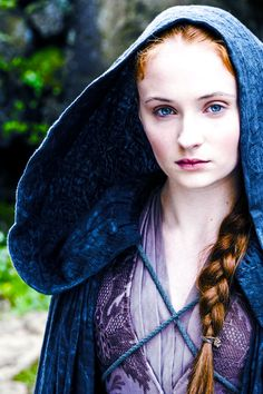 Sansa Stark in Game of Thrones, episode 4.05 ''First of His Name''.