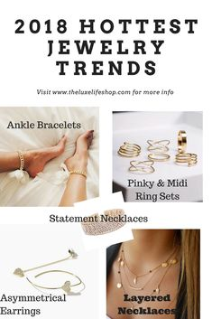 2018 Hottest Jewelry Trends