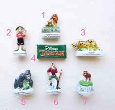 Tiny figurine from France, supply used for cake decoration during epiphany, those pieces can be hidden and baked in the cake.   Size about : 1 to 1 1/4  Please select your style from the drop down menu   Excellent condition