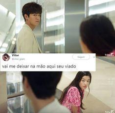 Que bom que ele vo. K Pop, Kdrama, Legend Of The Seas, Drama Memes, Shared Folder, Jikook, Bts Memes, Korean Drama, Sweet Dreams