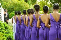 Mama Africa: Purple Bridemaids