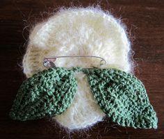 mybonnetbee: Foglie all'uncinetto: istruzioni/ Crocheted leaves: tutorial