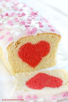 Mini Tortillas, Valentine Cake, Valentines Day, Happy Foods, Cake Cookies, Vanilla Cake, Sweets, Cooking, Party
