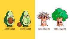 Artista espanhol desenha artes de Antes & Depois Hilárias Todas em https://temporalcerebral.com.br/ilustracoes-antes-depois-engracadas/