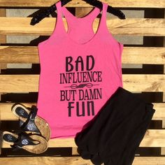 Bad Influence Tank – Southern Mess Boutique