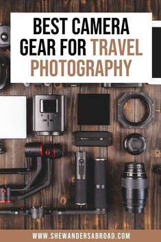 The number one question I receive as a travel blogger and Instagrammer is that what camera gear do I use for my photos? Therefore I put together a complete list about all the travel photography gear we use on our travels! It's perfect for everyday travelers, travel bloggers and Instagrammers as well! #travelphotography #photographytips #shewandersabroad | Best camera gear for travel photography | Best cameras for travel bloggers | Travel Photography Tips | Best photography gear for traveling