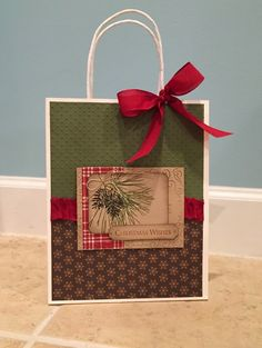 Stampin' Fun with Diana: Stylin' Stampin' INKspiration Reusing Christmas Items to Get a Head Start on 2015!, Gift Packaging, Recycling, Christmas, Stampin' Up, Diana Eichfeld