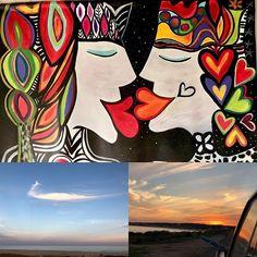 Aquí REINA el AmR  se llana la pintura y mide (125 x100 ) Las otras OBRAS las pintò DIOS!!Love Rules Here#the other 2 masterpieces where painted by GOD!  #patogilvillalobos #happyartbypato #reinar #romance #lovequeendom #reinadosdeamor #royalty #lovearts