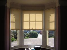 Blinds for Bay Windows – Your Practical Option   Ready Made Roman ...