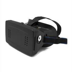 GAFAS DE REALIDAD VIRTUAL HASTA 6 PULGADAS Saca más partido a tu Smartphone con estas gafas de realidad virtual. Monta tu dispositivo en las gafas para disfrutar de una inmersión total en los juegos y videos disponibles de Realidad Virtual. Monta, instala y disfruta. Contenido Gafas de Realidad Virtual (adaptables a móviles desde 3.5 a 6 Pulgadas) Imanes para interacción con el teléfono Correa Ajustable a la cabeza Manual