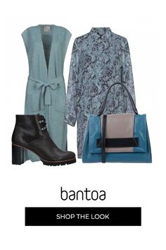 Monday style in Pantone bluestone: lungo gilet di lana su chemisier dress Pantone, Pullover, Outfits, Dresses, Style, Fashion, Vestidos, Swag, Moda