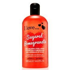 I love. Shower Gel, Bath Shower, Bubble Bath, Pomegranate, Shampoo, Bubbles, Personal Care, Cream, My Love