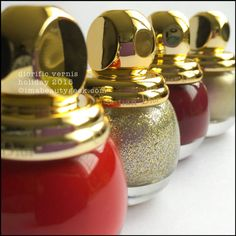 Diorific Vernis - State of Gold Collection Holiday 2015 at imabeautygeek.com