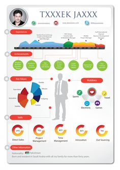 Infographic Resume Template Free New Infographic Resume Resume Help, Best Resume, Resume Cv, Resume Tips, Resume Ideas, Resume Design, Sample Resume, Infographic Resume Template, Resume Template Free