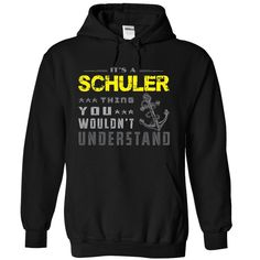 If your name is SCHULER then this is just for you