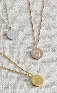 "I've been wearing my gold disc non stop. One side says Believe..the other, my monogram.  Get yours to remind yourself to believe in good, believe in possibilities, believe ""it will happen"". www.stelladot.com/ginamell"