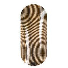 KOOKY Wavy Thin Lines Black & Gold Wraps