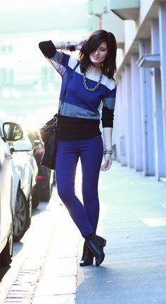 Chelsea Boots Gefärbte Jeans, Mode Kleidung Online, Herbst Looks, Chelsea  Stiefel, Farbblockierung 5f103a923e