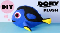 Here it is - my DIY Dory Plushie!! As you may know, blue tang fish (like Dory) live in special conditions and should NOT be kept as pets, so why not MAKE you...