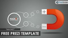 magnet concept free prezi template
