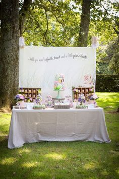 Little Big Company | The Blog: Enchanted Fairy Party by Bella Cupcakes