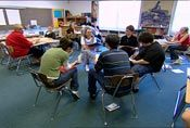 """"""" This site describes the Fishbowl technique that encourages group interaction, criticism and metacognition. I enjoyed this article because this can be a great technique to encourage greater accountability in group work"""" -Teaching Multicultural Literature . Workshop 3 . Teaching Strategies . Fishbowl"""