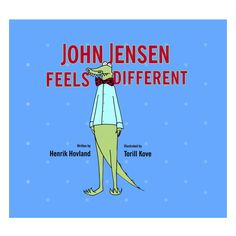 John Jensen Feels Different Children's Book