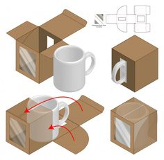Find Box Packaging Die Cut Template Design stock images in HD and millions of other royalty-free stock photos, illustrations and vectors in the Shutterstock collection. Thousands of new, high-quality pictures added every day. Diy Gift Box, Diy Box, Cajas Silhouette Cameo, Box Packaging Templates, Packaging Design Box, Diy Paper, Paper Crafts, Paper Box Template, 3d Modelle
